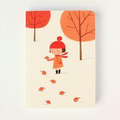 © Ekaterina Trukhan / Autumn Story notebook