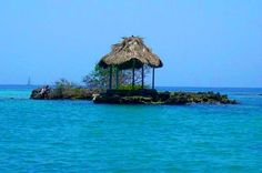 Isla del Encanto - Cartagena Colombia Caribbean Beach Resort, Beach Resorts, Honeymoon Vacations, Walled City, Spanish Colonial, South America, The Good Place, Spaces, Travel