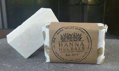 Salt Bar - Unscented All Natural Salt Bar - Coconut Oil Soap - Shea Butter Soap by HannaHerbals on Etsy
