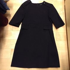Zara mini black dress Zara mini black dress. Used twice Zara Dresses Mini