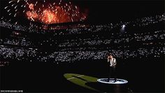 Bruno Mars took advantage of his Super Bowl halftime special to show the world that he's a world class entertainer . | Bruno Mars' Super Bowl Halftime Show Was Dazzling