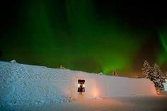The IceHotel, Sweden: Jukkasjärvi's a great place to catch the Northern Lights. Photographer: Martin-SmedsÇn