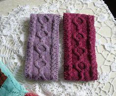 Ear warmer headband Lilac hair bands Womens headbands Gift
