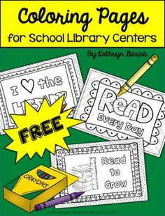 Fun and FREE printables for anytime your students need a calm coloring activity!Included:8 half-size pictures with a reading/library themeTeaching Tip:These pages are great to have printed out and on hand when a need arises. Thank you for your visit to my store.