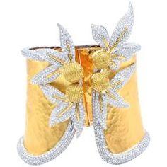 Impressive Diamond Cuff Bracelet