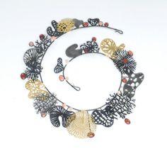 CORAL by Suzan Rezac Saw-pierced metals