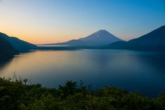 Mt.Fuji mist scene by peaceful-jp-scenery Morning of Lake Motosu Fuji 5 Lakes 早朝の富士山 富士五湖本栖湖  I prays for World Cultural Heritage registration of Mt.Fuji I publishes the photographs of Mt.Fuji and the around this week. Although May or June is rainy season and Mt.Fuji is covered by fog and clouds there are few chances of photography. I took this image in the morning after the rainy day.  世界文化遺産登録を祈願しまして今週は富士山の写真を掲載します 56月は霧や雲が多く撮影のチャンスは少ないのですが雨上がりの朝に撮影しました  [color retouched by Adobe…