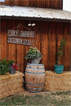 country ceremony decor ideas