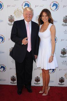 Melania y Donald Tru