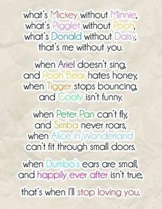 Favorite Disney Quotes for Wedding | Weddings, Fun Stuff | Wedding Forums | WeddingWire