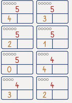 Zahlzerlegung nur bis 6 – Rebel Without Applause First Grade, Grade 1, Montessori Math, Maila, Math For Kids, Numeracy, Ms Gs, Kindergarten Math, Math Activities