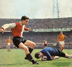 One of the best strikers of Feyenoord. Ove Kindvall from Sweden (1968)