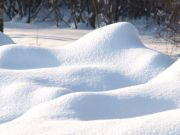 Is that snow in your yard safe to eat?