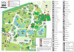 Blackpool Zoo Map