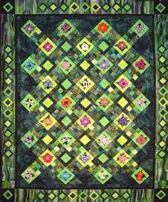 Green Quilt - a challenge