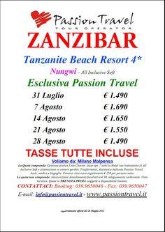 Tanzanite Beach Resort ****, Zanzibar