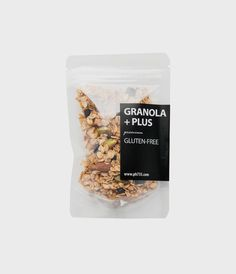 clear packaging stand up bags / stand up pouches / resealable food bags - curated by Copious Bags® Packaging Snack, Spices Packaging, Pouch Packaging, Food Packaging Design, Brand Packaging, Granola, Dried Bananas, Logo Food, Food Labels