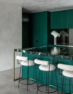 Interior Design Awards, Interior Decorating, Apartments Decorating, Decorating Bedrooms, Decorating Ideas, Decor Ideas, Beautiful Kitchen Designs, Beautiful Kitchens, Mid Century Modern Kitchen