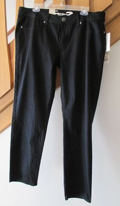 Just added to our eBay store...click photo for details. Brand new with the tags!  Seven 7 Coated Skinny Jeans Premium Stretch Women's Size 16 Blue Denim NEW NWT #Seven7 #SkinnyStretchCoated #jeans #black #blue #ink #women's #fashion #sale #ebay