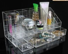 Amazon.com - Acrylic Cosmetic Organizer with Removable Drawers by D'Eco -