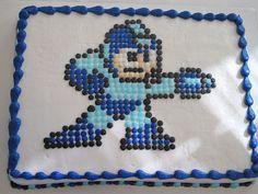 Video game b-day cakes always make me smile.