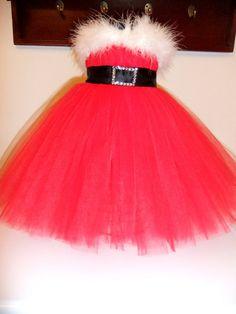 Girls Toddler Mrs Miss Santa Baby Christmas by TutuCuteCustomMade, $30.00
