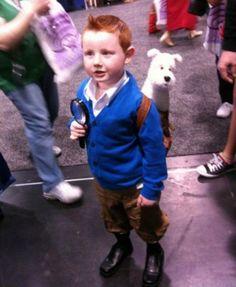 Tintin - Les meilleures idées deguisements pour enfants ! - Diaporamas Fêtes ! - Momes.net