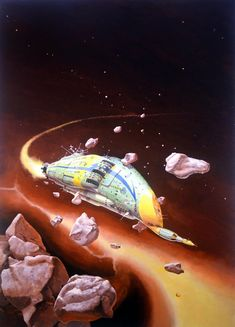 Rogue Ship - A. E. van Vogt Comic Art