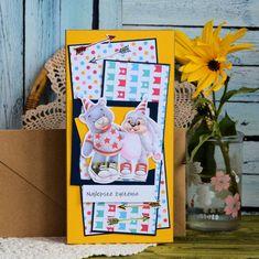 Kartka urodzinowa ze zwierzątkami ( 2 ) Frame, Cards, Painting, Home Decor, Picture Frame, Decoration Home, Room Decor, Painting Art, Paintings