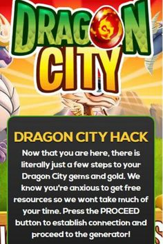 Dragon City cheats generally assist you to play Dragon City game much easier than normal. Do consider applying this dragon city hack generator if you want to extract free gems without having to download dragon city hack apks or spend cash.  Rear lots of lovable fire-breathing dragons in the Extraordinary Dragon City game which has loads of interesting features. Coach them all to your will and show your might to assert the trophy of top Dragon Grandmaster! Dragon City Cheats, Dragon City Game, City Generator, Got Dragons, Fire Breathing Dragon, Dragon King, Free Gems, City Art, Cheating