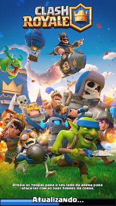 Nova capa - atualizado clash royale