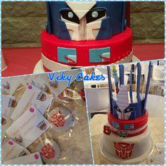 Trasformers cake