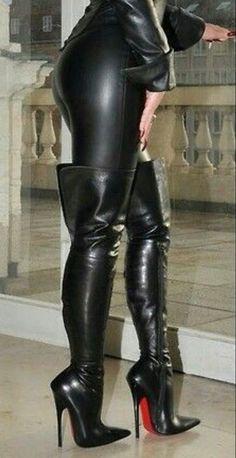 Thigh High Boots, High Heel Boots, Heeled Boots, High Heels, Sexy Boots, Sexy Heels, Botas Sexy, Stiletto Boots, Spike Heels