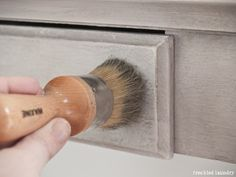 How to create a timeworn, weathered, and crackle finish on furniture