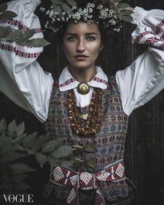 Baltic Bridge cover girl takes on Vogue Italia's PhotoVogue Gallery - Ona Zekonis