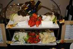 cheese platter wine tasting party by Kathi Allen