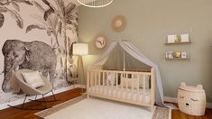 Baby Room Diy, Baby Bedroom, Baby Boy Rooms, Baby Room Decor, Baby Cribs, Nursery Room, Unisex Bedroom Kids, Kids Bedroom, Ideas Habitaciones