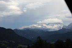 Snow in the mountain Alps, Clouds, Snow, Mountains, Nature, Travel, Naturaleza, Viajes, Traveling