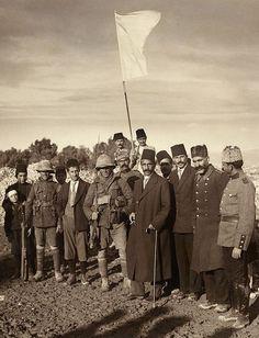 The Ottoman surrender of Jerusalem to the British, December 9, 1917