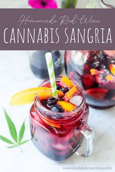 Weed Recipes, Marijuana Recipes, Cannabis Edibles, Alcohol Recipes, Drinks Alcohol, Cannabis Cookbook, Sangria Recipes, Drink Recipes, Cooking Recipes