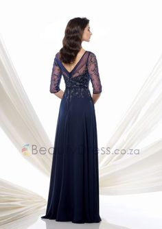 Floor-Length Mother Of The Bride Dress On Sell