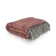 A touch of warmth for winter days, Mum. Knitted Throws, Winter Day, Tassels, Knitting, Clothes, Touch, Outfits, Clothing, Tricot