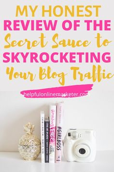 Blog traffic is the livelihood of your blog. To get the kind of traffic you need to make six figures isn't easy. If you want to grow your blog, make money blogging then read my review of this amazing ebook for bloggers filled with real blog traffic growing strategies that'll help you rank on the first page of Google. #blogtraffic #blogtraffictips #blogtips