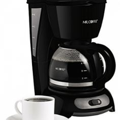 Mr Coffee 4 Cup Coffee Maker Simple Brew Auto Pause Filter Brewing Home Black 4 Cup Coffee Maker, Best Drip Coffee Maker, Coffee Maker Reviews, Coffee Maker Machine, Coffee Shop, Coffee Cups, Coffee Machines, Coffee Coffee, Coffee Beans