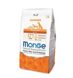 MONGE ALL BREEDS ANATRA RISO PATATE 12KG  #petshouseacerra    37,80 €    Clicca sul link -> https://www.pets-house.it/per-cani-adulti/4387-monge-all-breeds-anatra-riso-patate-12kg-800947001113.html