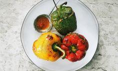 Rezept: Gefüllte Paprika - Das Kochquartett