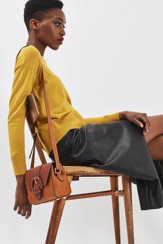 VINNY Vintage Crossbody Bag - Bags & Purses - Bags & Accessories - Topshop