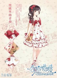cloth for anime characters Anime Outfits, Girl Outfits, Cute Outfits, Chibi, Manga Girl, Manga Anime, Dress Up Diary, Star Fashion, Girl Fashion