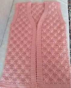 Modesty Vest Top pattern by maybebaby designs Zig Zag Crochet, Gilet Crochet, Baby Blanket Crochet, Crochet Baby, Free Crochet, Knitting Paterns, Crochet Poncho Patterns, Dress Patterns, Crochet Pattern