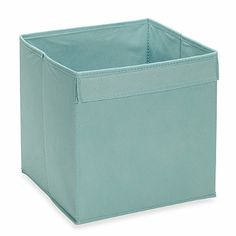 Real Simple® Fabric Drawer in Blue - BedBathandBeyond.com  $6.99 - (one)